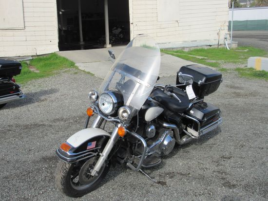 2007 HARLEY DAVIDSON ROAD KING POLICE MOTORCYCLE