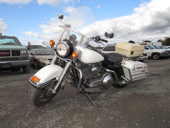 2005 HARLEY DAVIDSON ROAD KING POLICE MOTORCYCLE