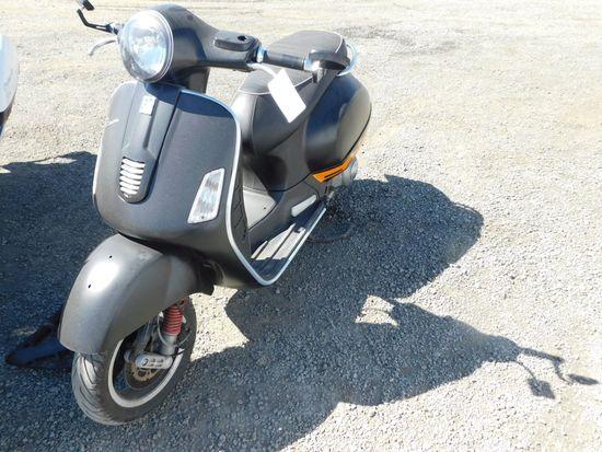 2013 PIAGGIO VESPA MOTORCYCLE