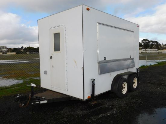 2 AXLE TICKET BOOTH TRAILER