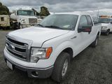 2014 FORD F-150 4X4 EXTENDED CAB PICKUP TRUCK