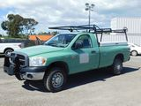 2007 DODGE RAM 2500 4X4 PICKUP TRUCK W/ TOOL BOX