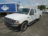 2004 FORD F-250 UTILITY TRUCK W/ LIFTGATE