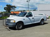2002 FORD F-150 XL PICKUP TRUCK W/ PICKUP COVER (CNG ENG)