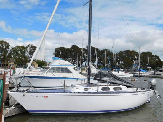 "1974 PETERSEN 24' 11"" SAILBOAT (NON RUNNER) (SUBJECT TO SELLERS APPROVAL)"