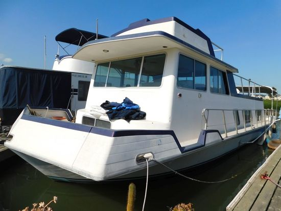 1977 NAUTA-CRAFT 43' HOUSEBOAT (NON RUNNER) (SUBJECT TO SELLERS APPROVAL)