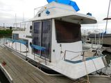 1981 FISHERCRAFT 29' HOUSEBOAT (NON RUNNER) (SUBJECT TO SELLERS APPROVAL)