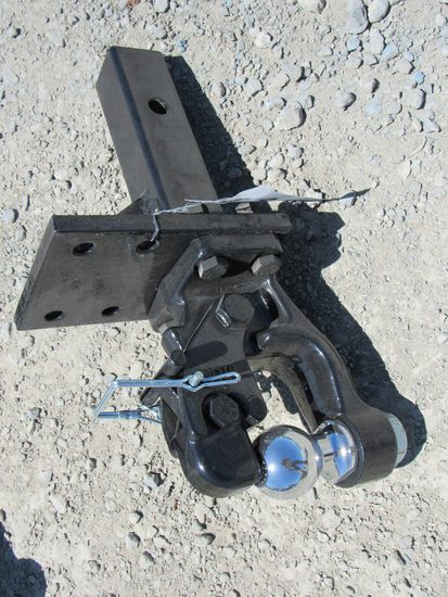 NEW & UNUSED STIFF NECK PINTLE HITCH