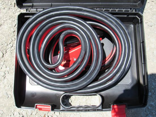 NEW & UNUSED 25' 800 AMP HEAVY DUTY BOOSTER CABLES