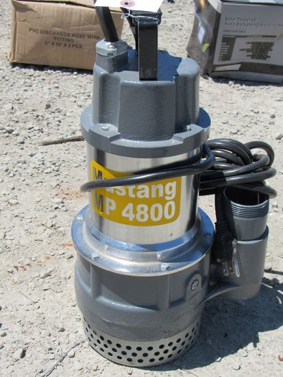 "NEW & UNUSED MUSTANG MP4800 2"" SUB PUMP"