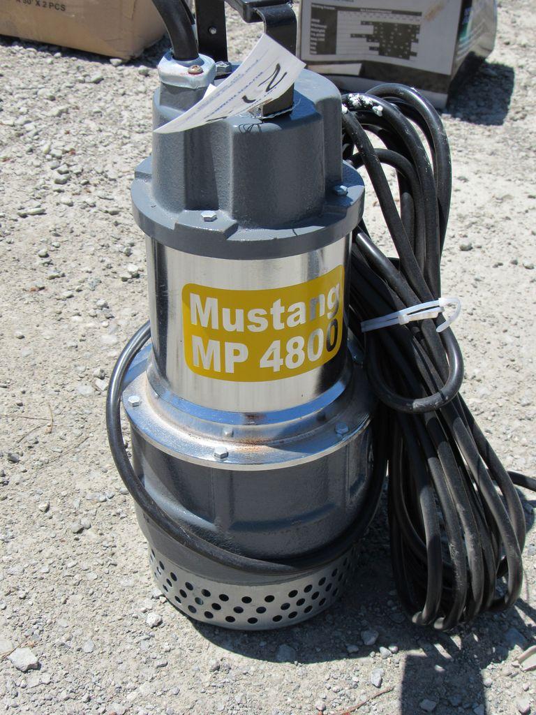 "NEW & UNUSED MUSTANG MP4800 2"" SUB PUMP"