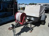 2007 INGERSOLL RAND AIR SOURCE TOWABLE AIR COMPRESSOR
