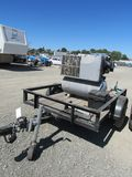 1998 LIL TEX TRAILER W/ INGERSOLL RAND AIR COMPRESSOR