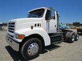 1998 FORD L9000 3 AXLE TRUCK TRACTOR W/ WET KIT