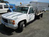 2000 GMC 3500 FLATBED DUMP TRUCK