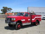 1997 FORD SUPER DUTY FIRE TRUCK POWER STROKE