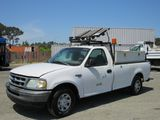 1998 FORD F-250 PICKUP TRUCK W/ TOOL BOXES & LIFTGATE