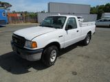 2005 FORD RANGER 4X4 PICKUP TRUCK W/ TOOL BOXES