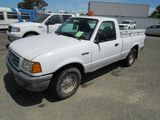 2003 FORD RANGER PICKUP TRUCK W/ TOOL BOXES