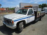 1993 GMC 3500 FLATBED TRUCK W/ LIFTGATE
