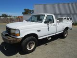 1993 FORD F-250 PICKUP TRUCK W/ TOOL BOXES
