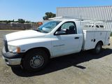 2005 DODGE RAM 2500 PICKUP TRUCK W/ TOOL BOXES