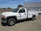 2001 GMC 2500 UTILITY PICKUP TRUCK