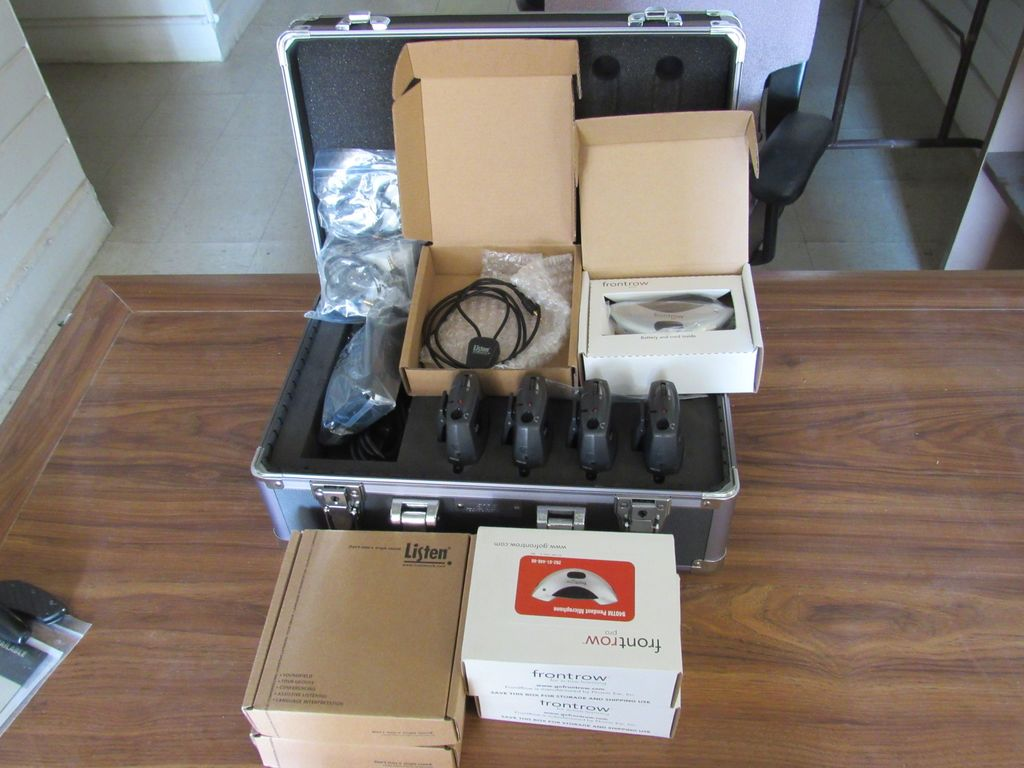 NEW & UNUSED LISTEN HEARING ASSISTANCE SYSTEM