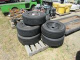 PALLET OF 22/60/R16 TIRES