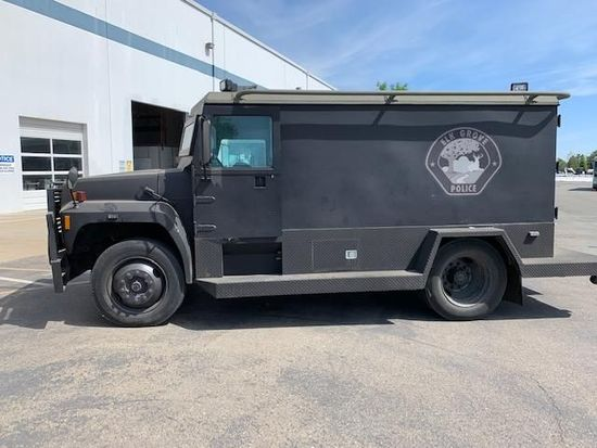 1994 FORD F-750 ARMORED CAR **(TO BE SOLD TO A DISMANTLER ONLY)**