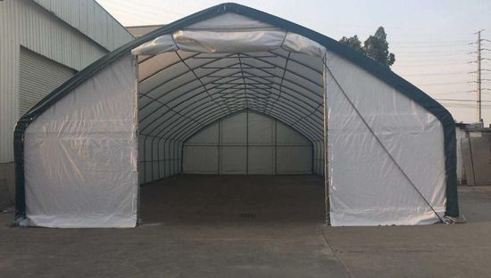NEW & UNUSED 30' X 50' COMMERCIAL GRADE STORAGE SHELTER