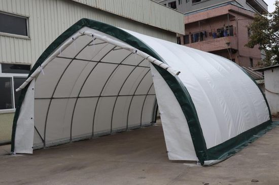 NEW & UNUSED 20' X 30' PEAK STORAGE SHELTER