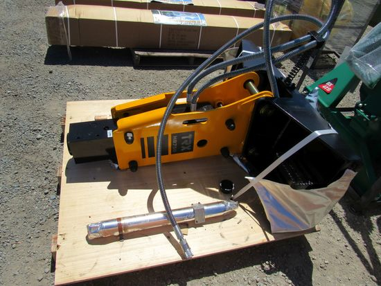 NEW & UNUSED TRX HB750 SKID STEER HYD HAMMER