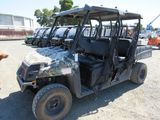 2013 POLARIS RANGER CREW 500 4X4 UILITY CART