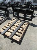NEW & UNUSED JBX 4000 SKID STEER FORK ATTCH