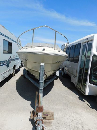 1984 SEA RAY 210 CABIN CRUISER W/ TRAILER
