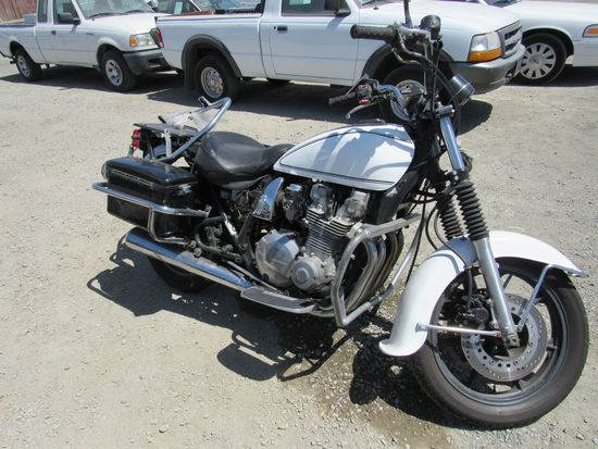 1999 KAWASAKI 1000 POLICE MOTORCYCLE