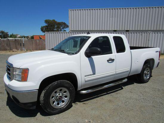 2012 GMC SIERRA 1500 4X4  PICKUP TRUCK