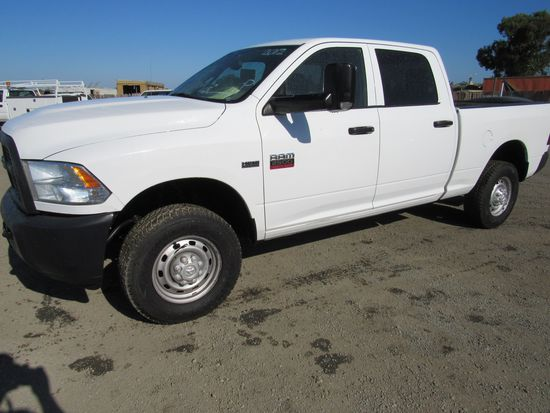 2012 DODGE RAM 2500 4X4 HD PICKUP TRUCK