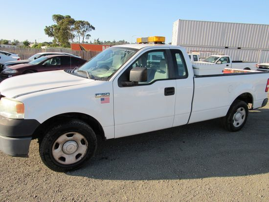 2007 FORD F-150 PICKUP TRUCK W/ TOOLBOX