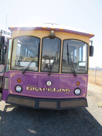 2001 CHAMPLAIN 1608 TROLLEY( CNG ONLY )