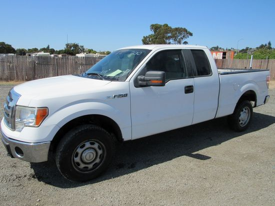 2010 FORD F-150 4X4 PICKUP TRUCK (MECH ISSUES)