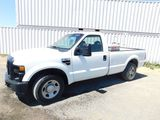 2009 FORD F-350 PICKUP TRUCK W/ FUEL TANK & TOOL BOX