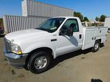 2003 FORD F-250 UTILITY TRUCK