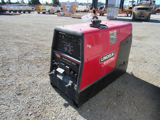 LINCOLN ELECTRIC RANGER 250 WELDER