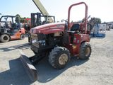 2005 DITCH WITCH RT 40 RIDE ON 4X4 TRENCHER