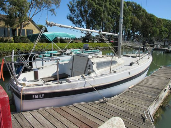 """1970 COLUMBIA 25' 7"""" SAIL BOAT (NON RUNNER) (SUBJECT TO SELLERS APPROVAL)"""