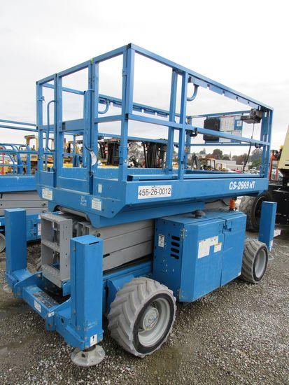 2013 GENIE GS-2669 RT 4X4 SCISSOR LIFT
