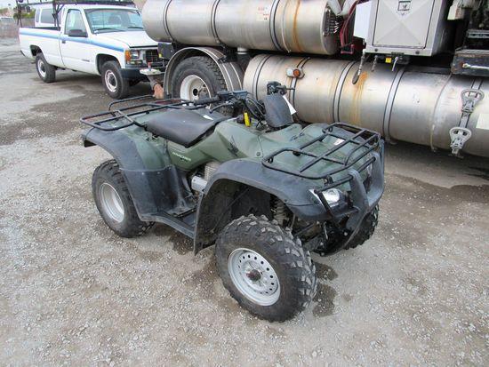 2006 HONDA TRX350FE 4X4 RANCHER A.T.V.