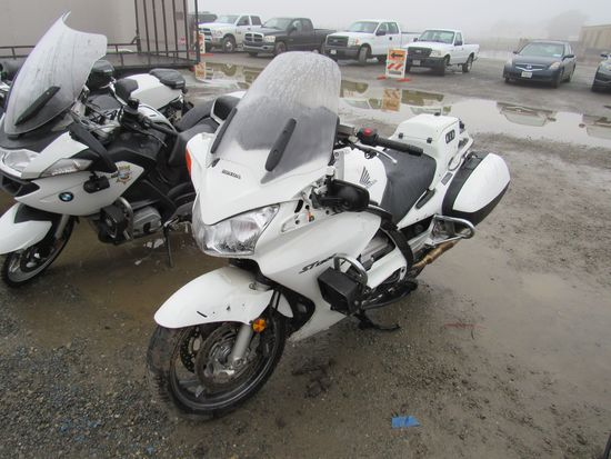 2007 HONDA ST1300 POLICE MOTORCYCLE